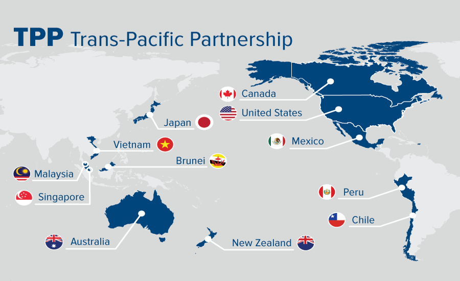controversial trans pacific partnership agreement - 870×541