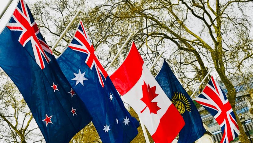 CANZUK Flags