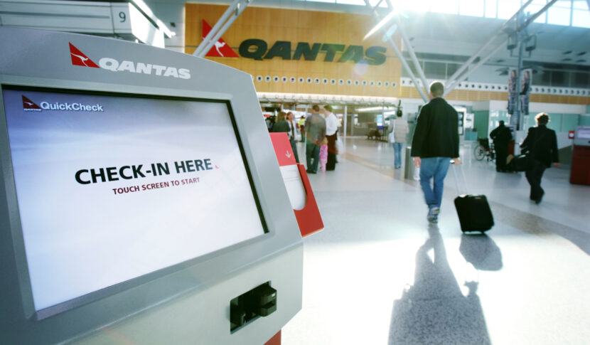 QANTAS check in CANZUK