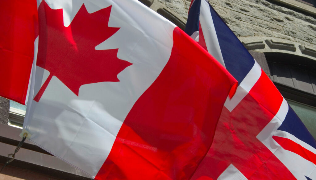Canada UK Flags CANZUK
